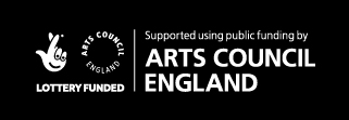 Lottery funded by the Arts Council of England